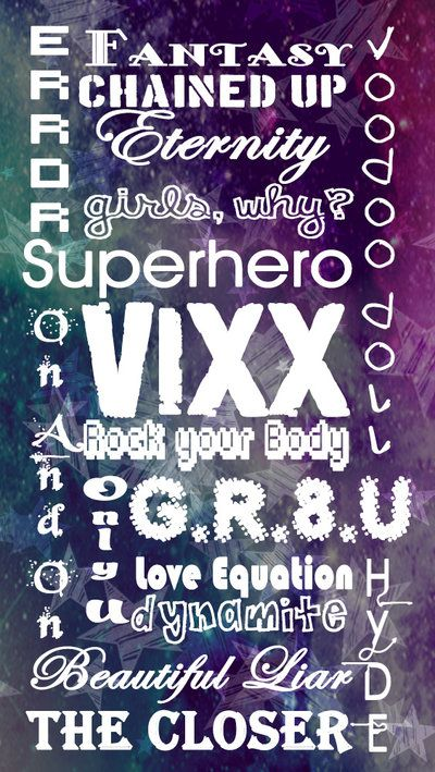 VIXX Wallpaper By LeoLunnadeviantart Com On DeviantArt