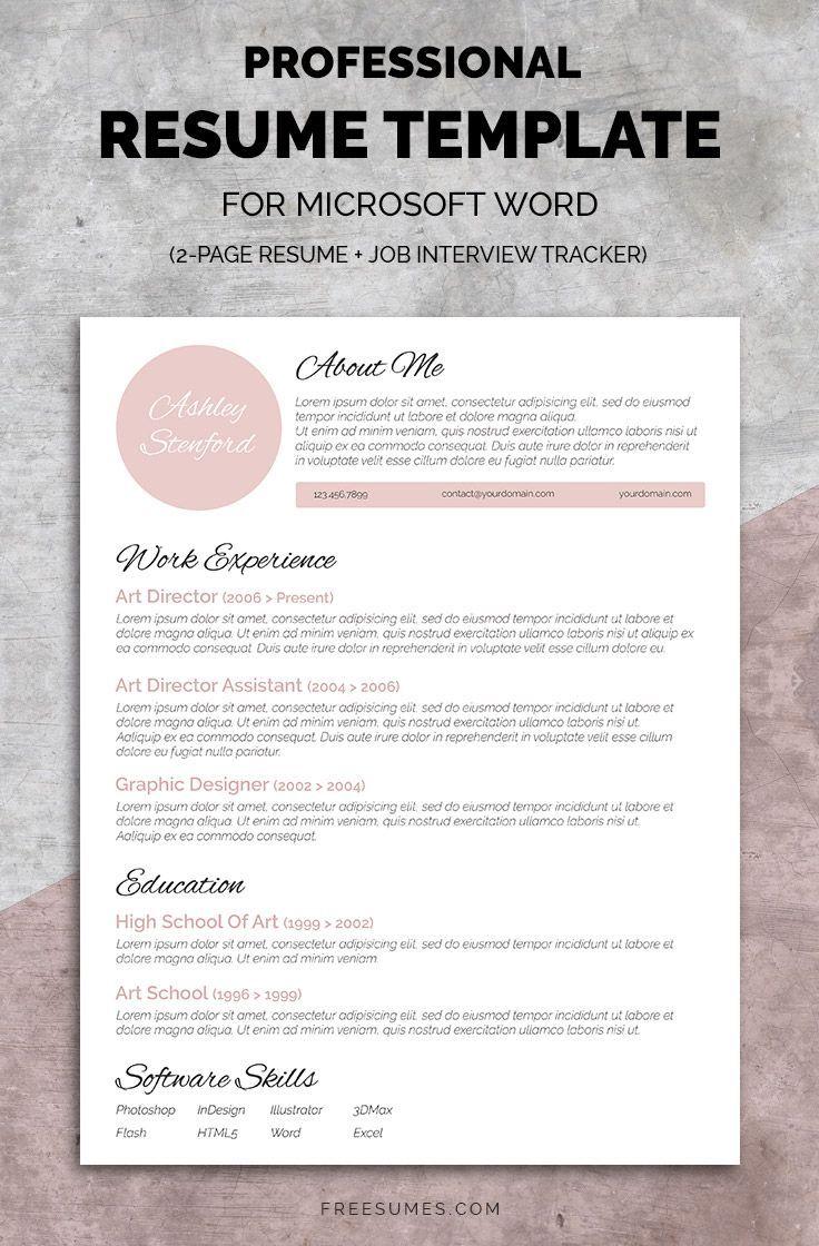 Resume template, Resume design, Resume template