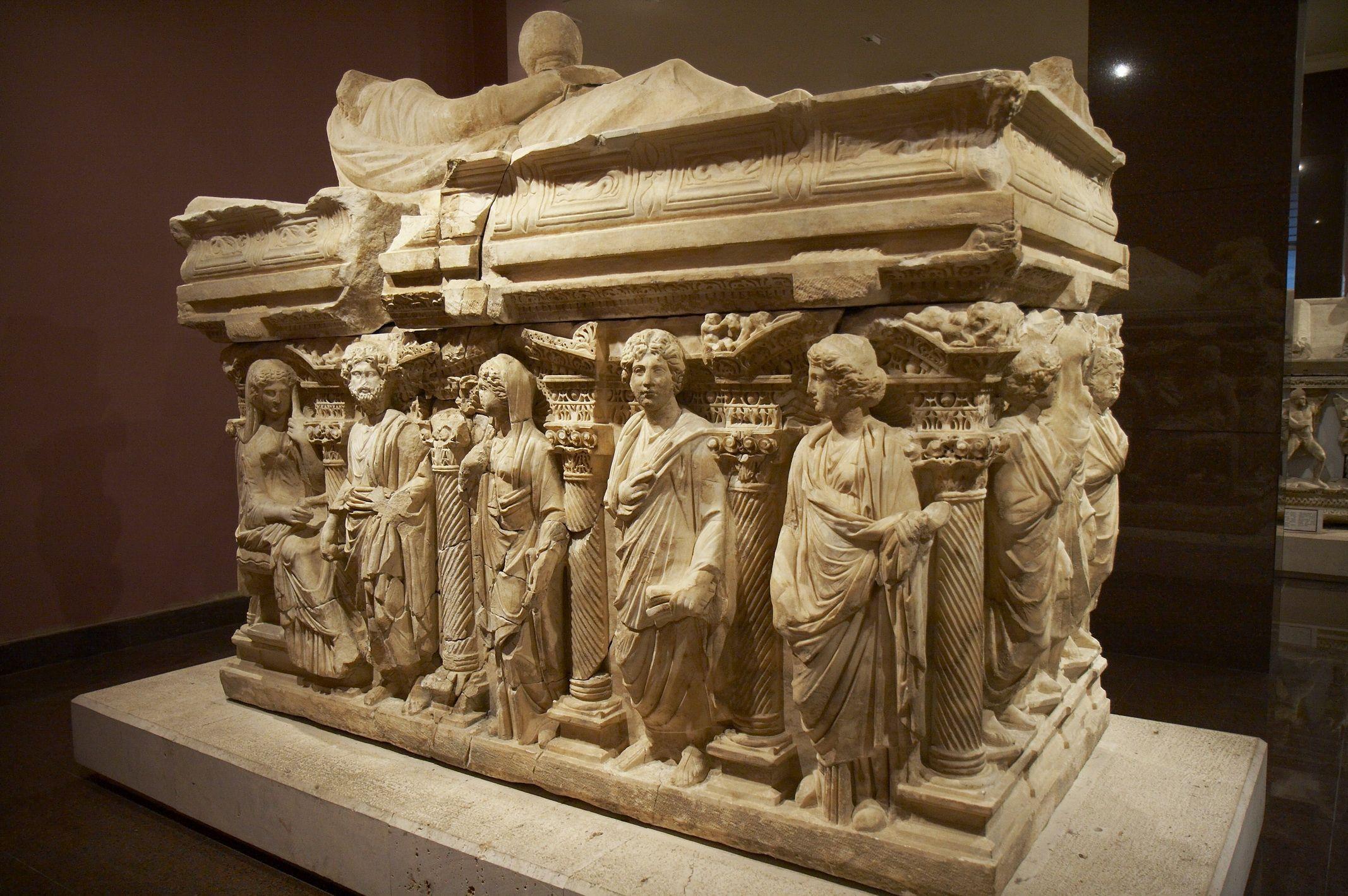 Roman Sarcophagus ~ 2nd C. ~ Antalya Museum