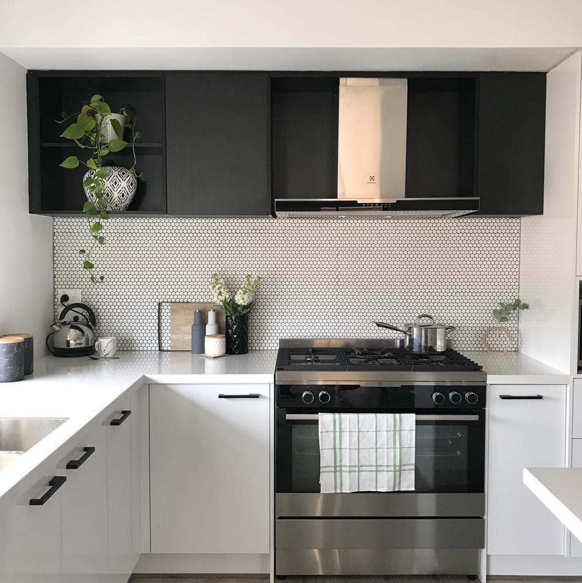 Credence Cuisine Carrelage: 11 Types Of White Kitchen Splashback Tiles: Add Interest