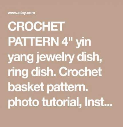 59 Ideas Crochet Jewelry Dish Photo Tutorial 59 Ideas Crochet Jewelry Dish Photo Tutorial