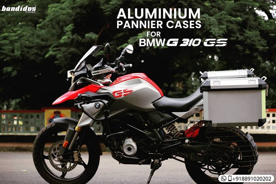 Aluminium Pannier Cases For Bmw G 31 Gs Motorcycle Bmw Bike Ride