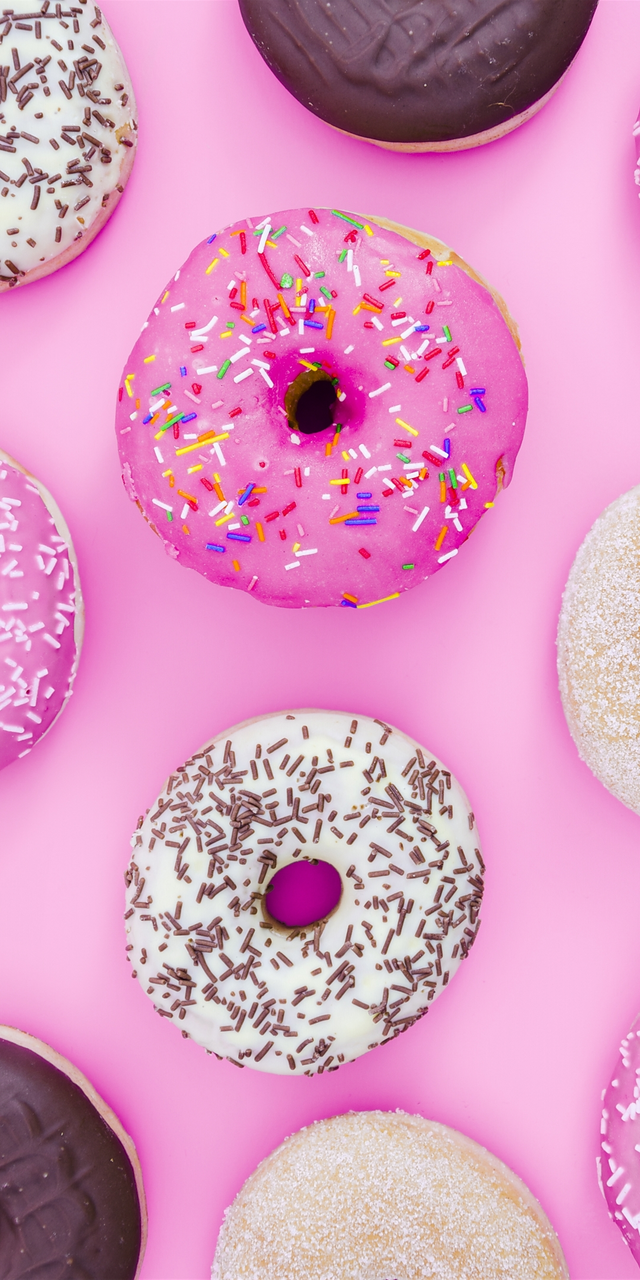 Cute Donut Wallpaper For Iphone