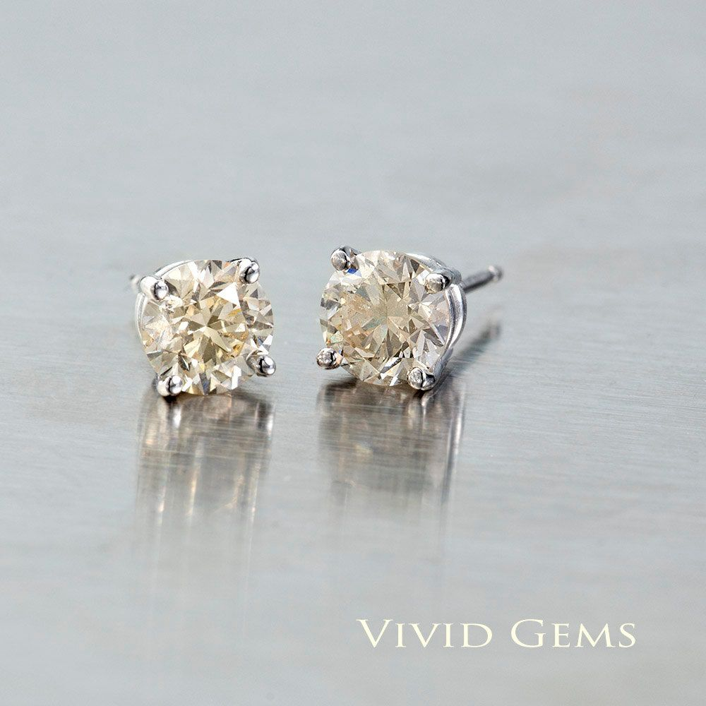 products bmg g champagne monr mez tiny studs dainty handmade blanca lookbook in brooklyn s diamond stud