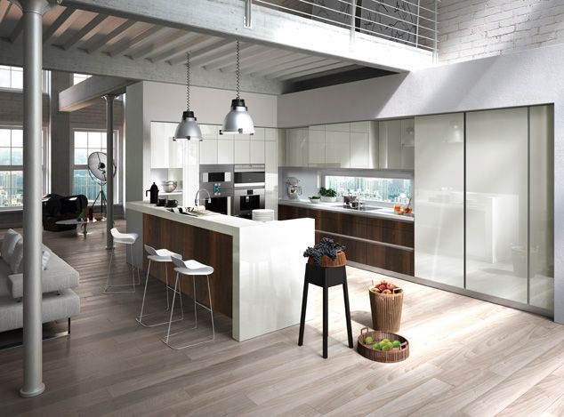 Modular And Contemporary Kitchens White Modern Kitchen Contemporary Kitchen Kitchen Design Open