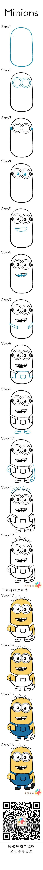 Como Desenhar Minions Desenho Dos Minions Facil De Desenhar E