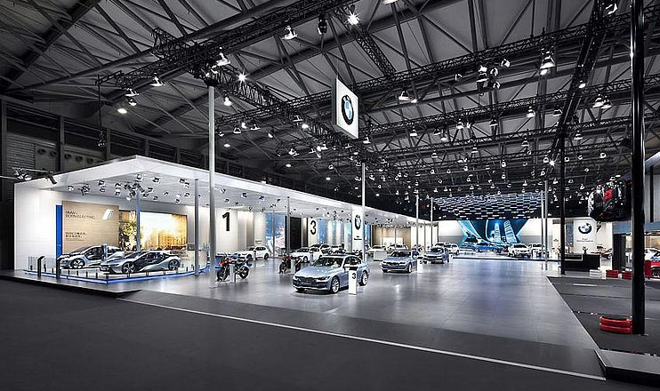 Shanghai Motor Show BMW imagine Structure