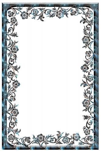 Для текста Красивая рамка с цветами нежная рамки | Рамки ...