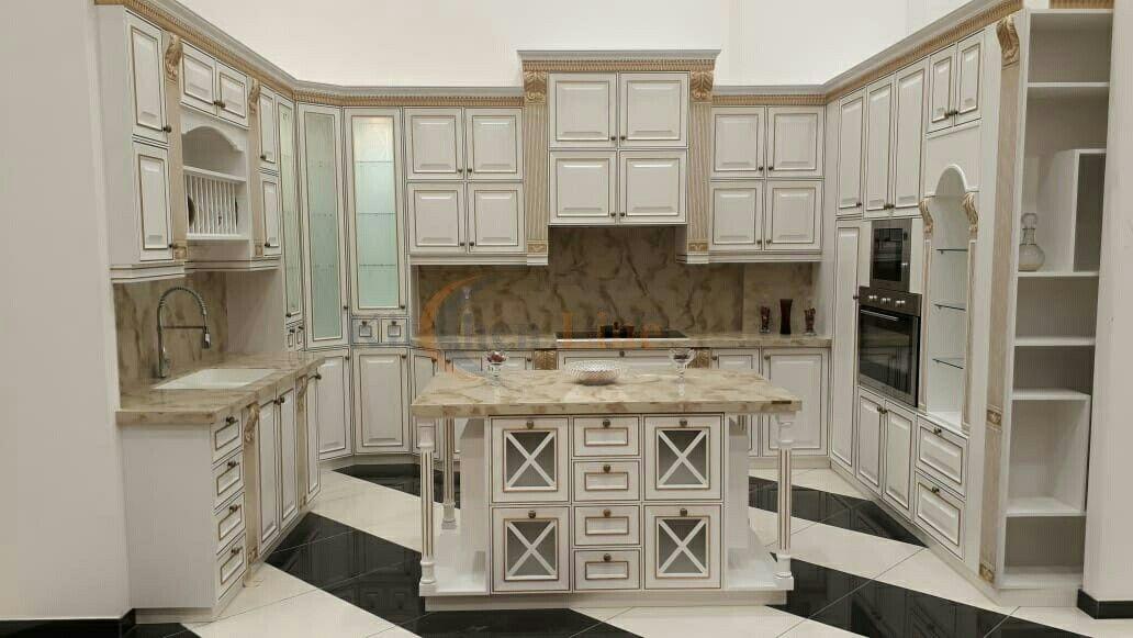 مطبخ خشب سنديان أمريكي Kitchen Countertops Home Kitchen
