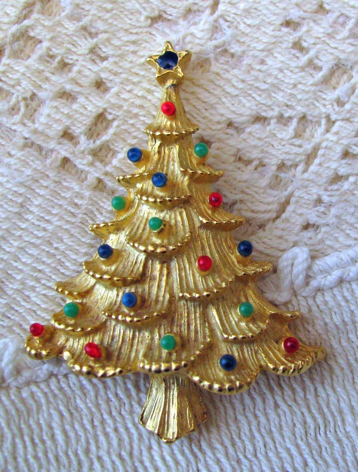Image detail for -Christmas tree pin by Eisenberg by myparentsattick on Etsy