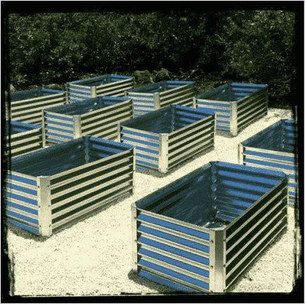 Our corrugated metal garden beds are made from 100% recyclable steel material   Galvanized steel is a superior choice over all garden bed material options  is part of Metal garden beds -