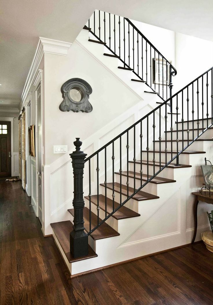 Image Result For Farmhouse Style Stair Rail With Images