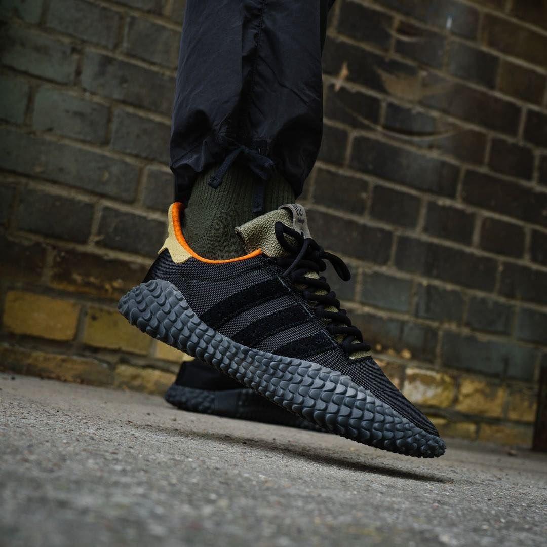 on sale a5379 3f5d9 Release Date  September 1, 2018 Bodega x Adidas Kamanda Dark Blue  Brown  https