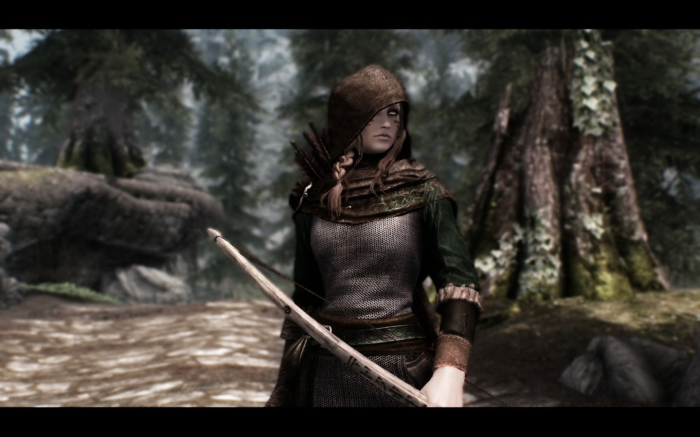 Grace Darklings Ranger Armor V3 at Skyrim Nexus - mods and