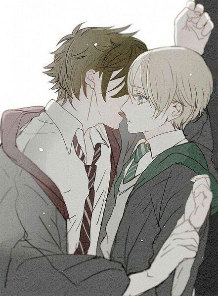 Harry potter x draco yaoi idea)))) think