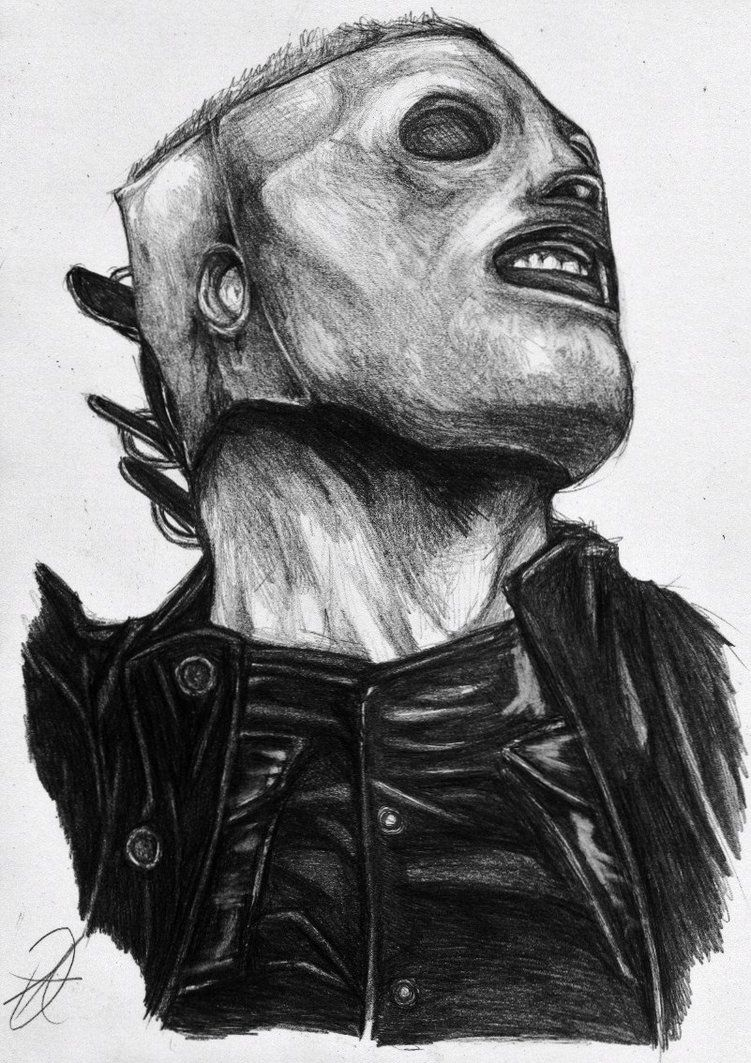 Slipknot Drawing Corey Taylor Google Zoeken Slipknot