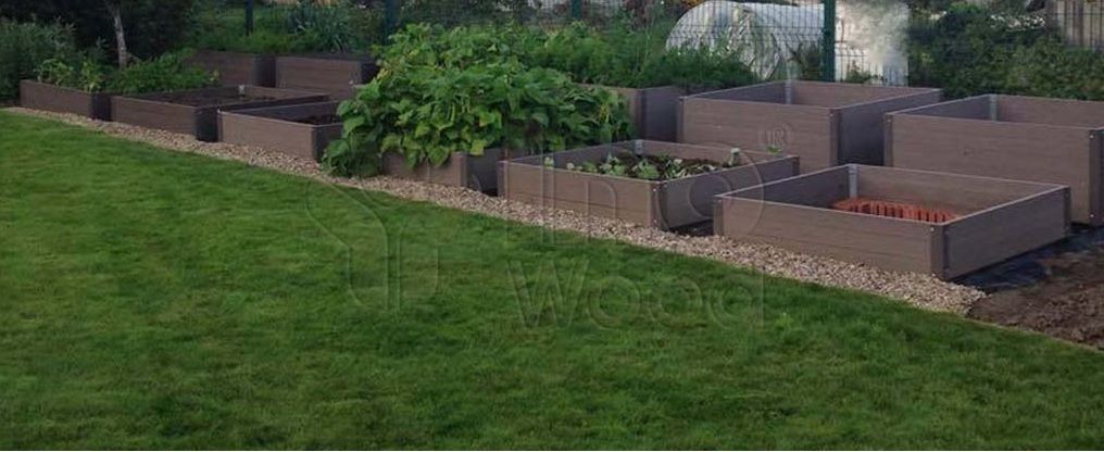 Isn T This Garden Awesome We Choose Wpc Boards For Raised Beds Outdoor Storage Outdoor Storage Box Raised Beds