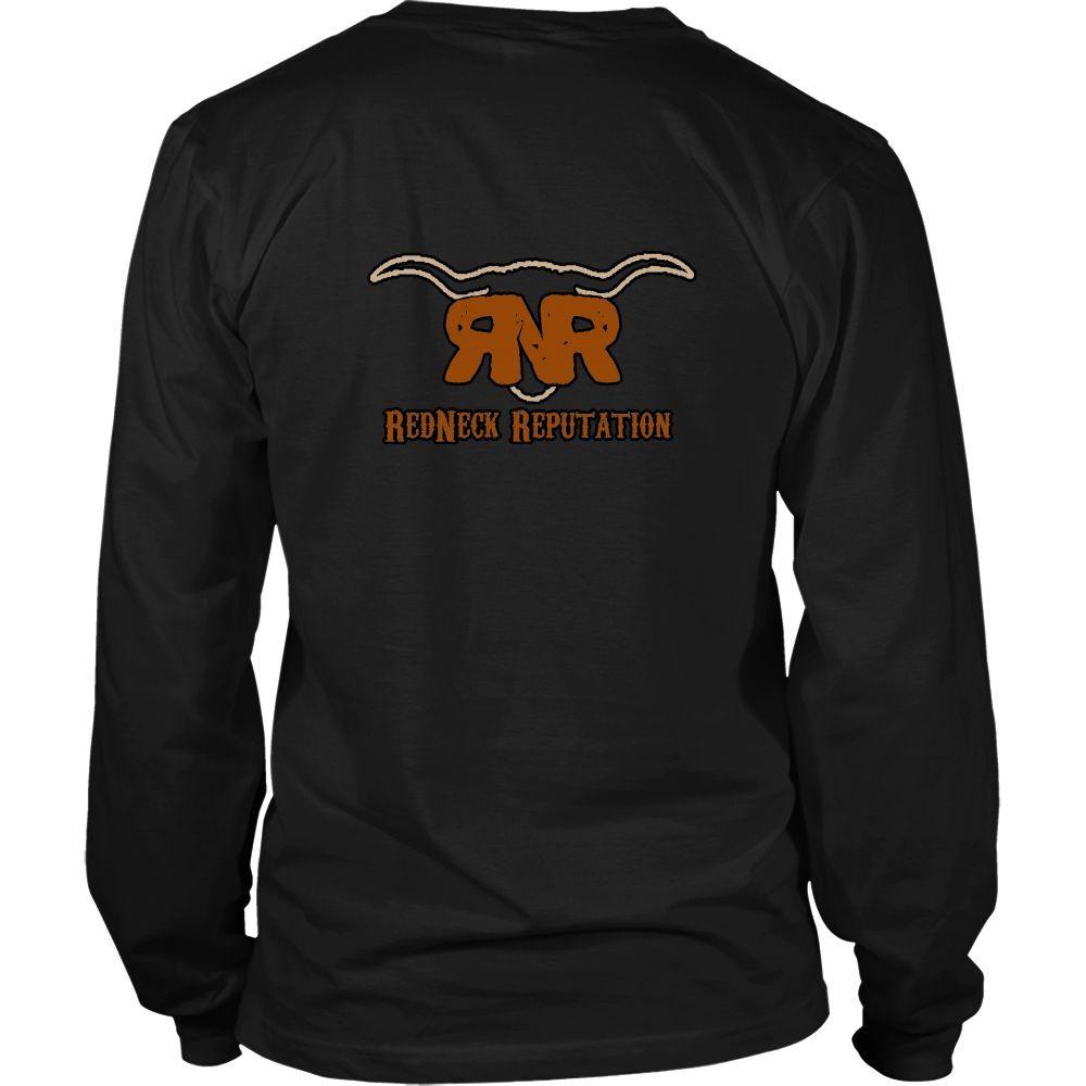 RNR Long Sleeve Shirt White or Black logo on back