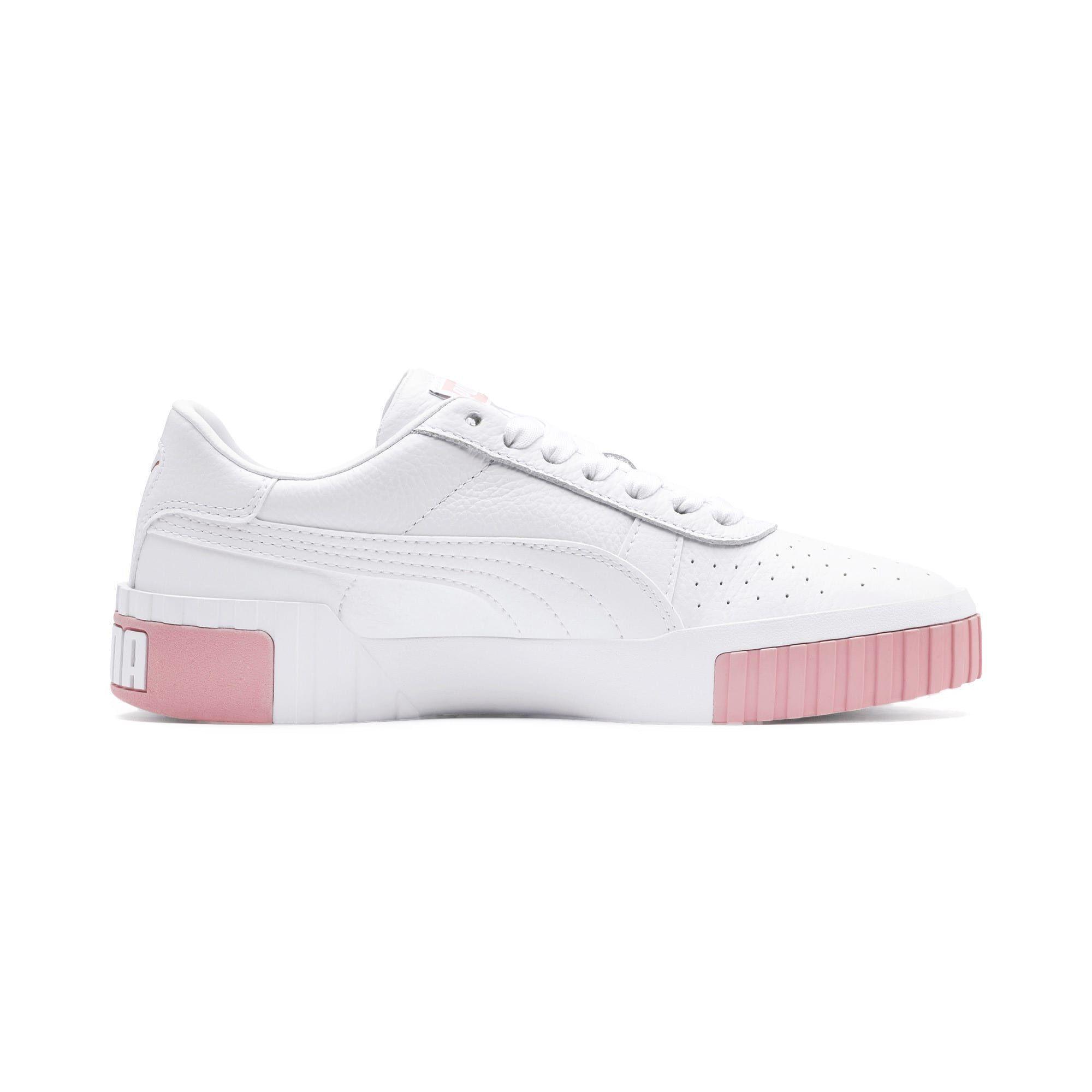 puma cali blanc rose