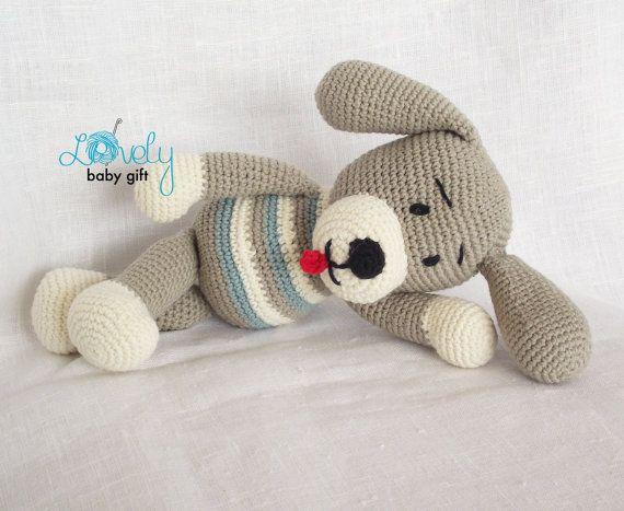 Amigurumi Crochet Pattern, Puppy, Dog, Amigurumi Crochet Animal ...