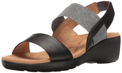 e3a5cc615851 Easy Spirit Women s Kaffi Wedge Sandal     Click image for more details.  (This is an affiliate link)