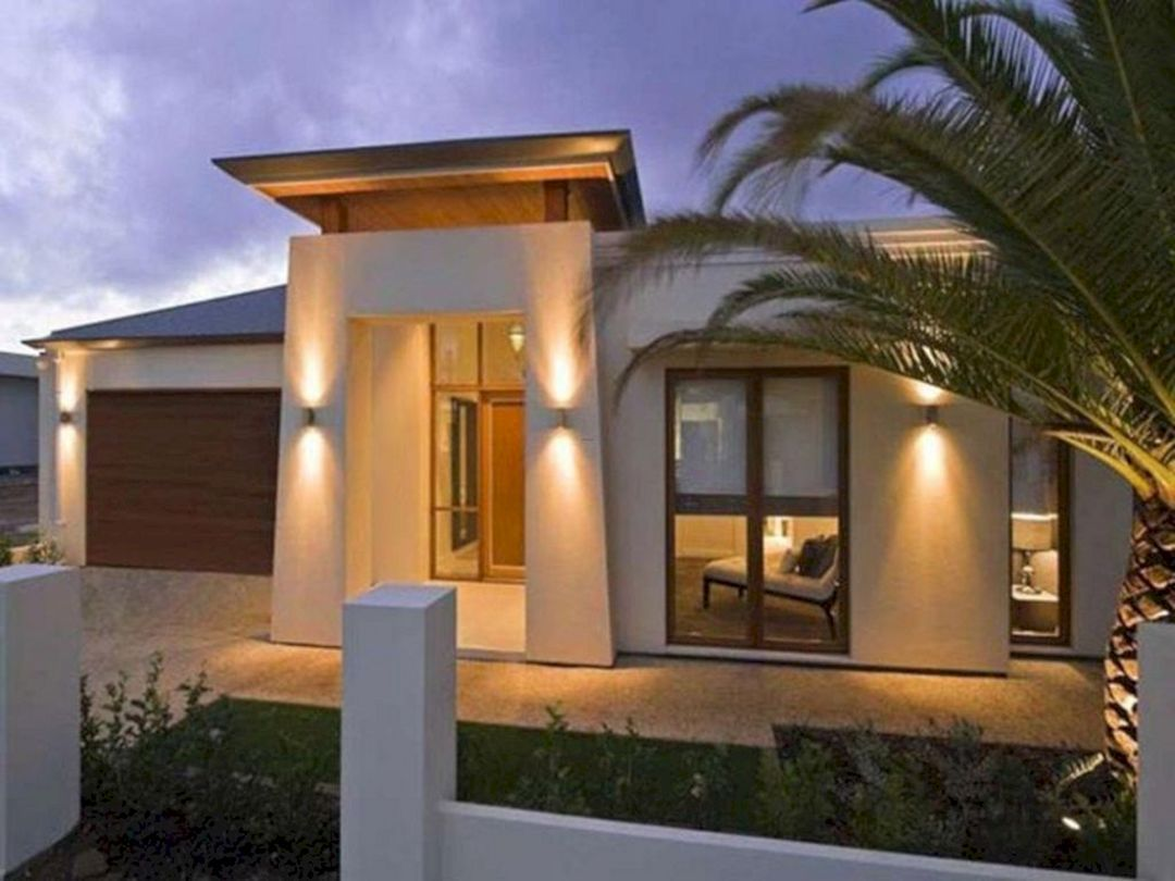 Pin On Exterior Lighting Modern house exterior lighting ideas