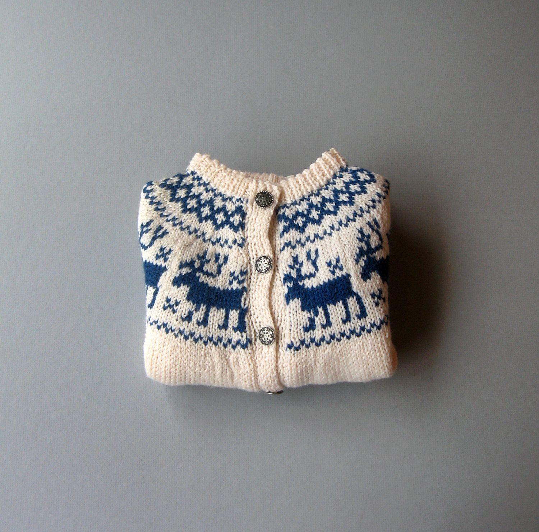 Vintage Child S Norwegian Wool Sweater Never Worn 42 00