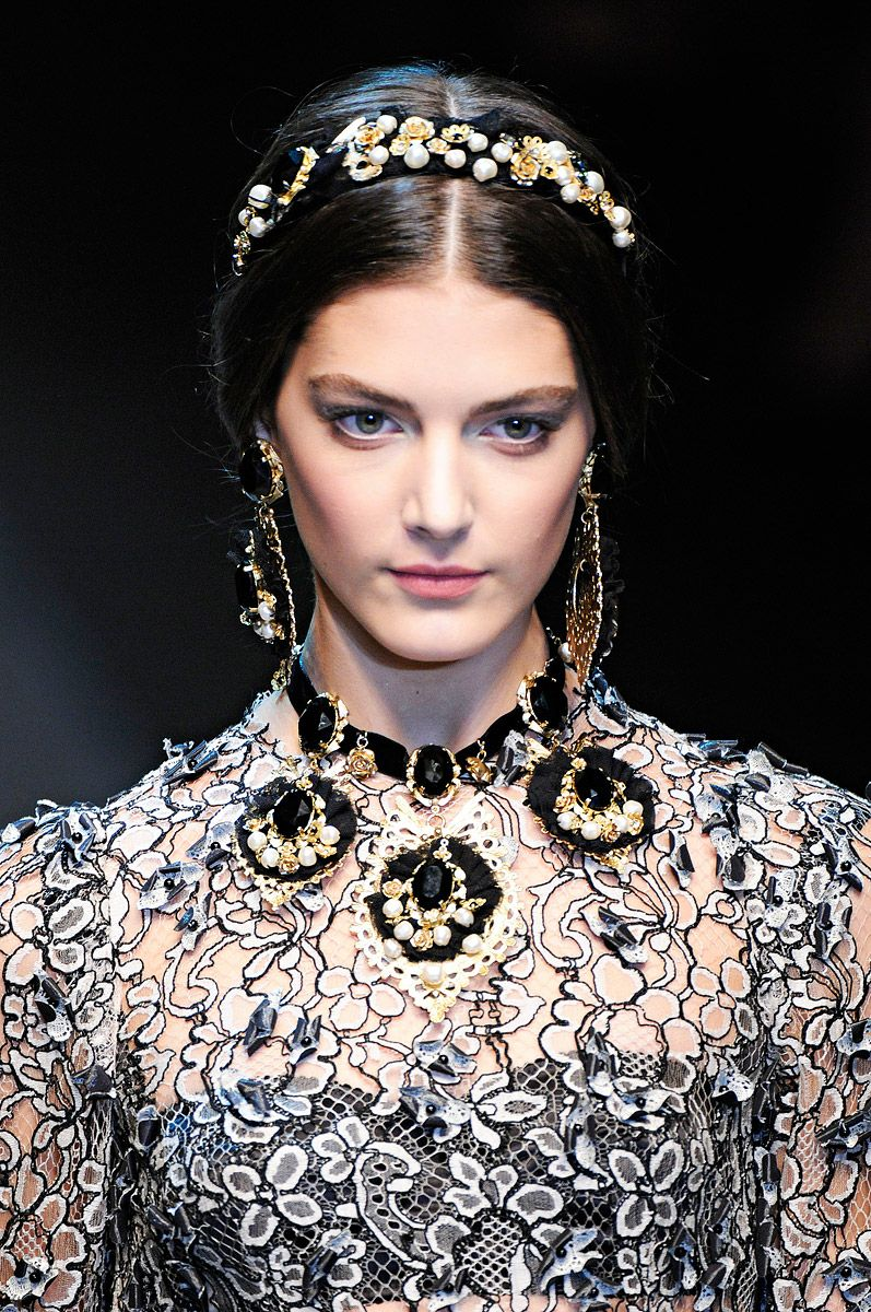 #Dolce & Gabbana Fall 2012 RTW Review  Collections #Details