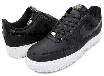 """NIKE AIR FORCE 1 SUPREME I/O TZ """"Year Of The Dragon"""" blk/blk"""