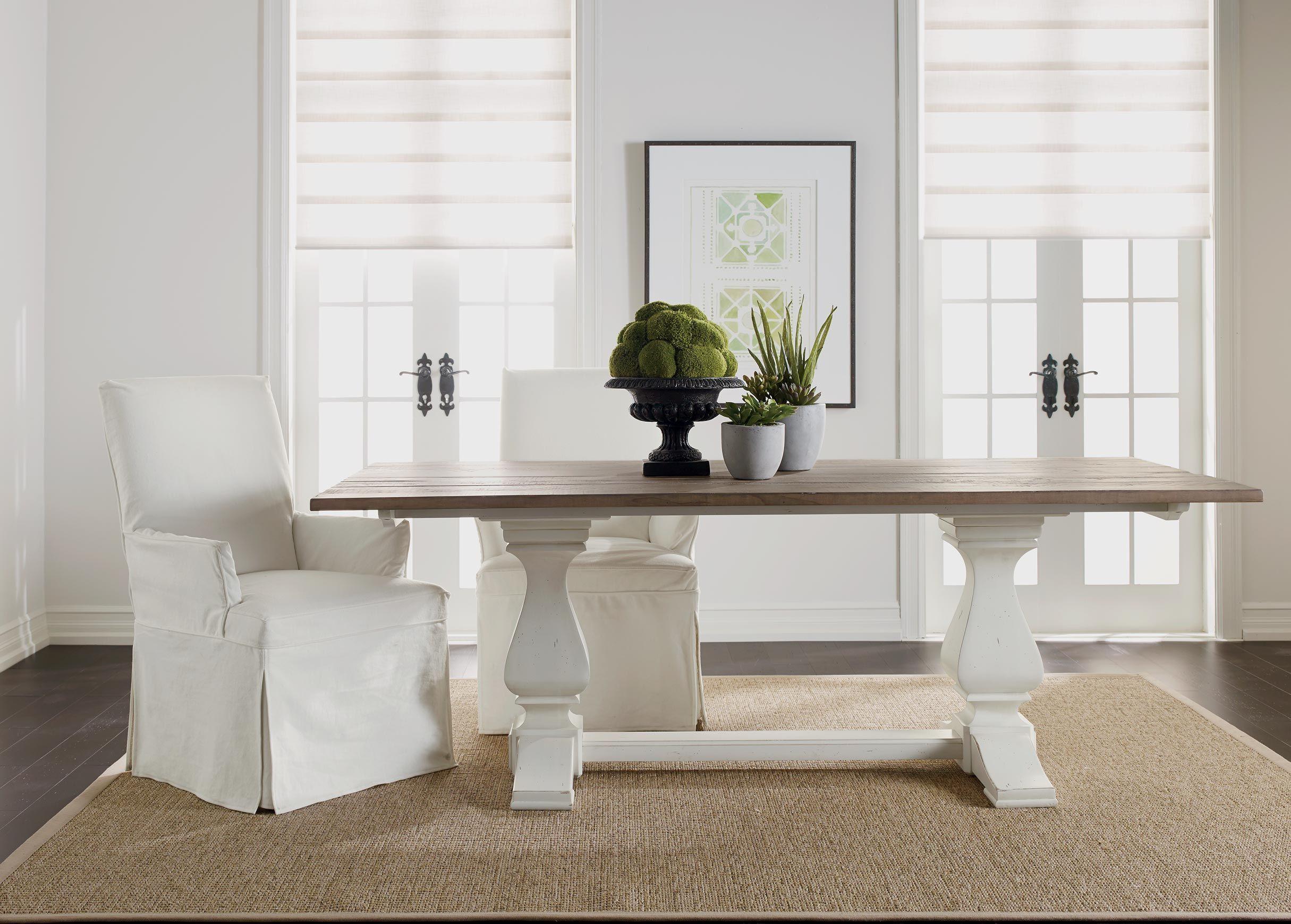 Cameron Rustic Dining Table , Rough-sawn Dakota / Vintage ...