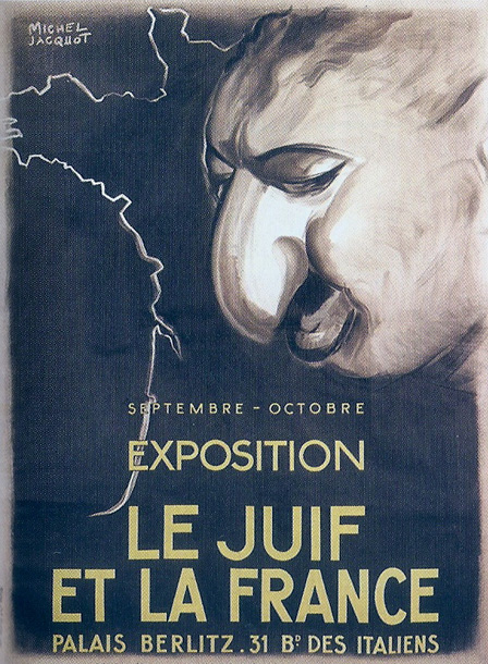 The Jew And France Exhibition Poster Life Art Occupied France France