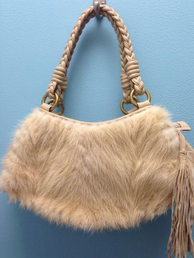 Handbag Heaven Paolo Masi Mink And Leather 125