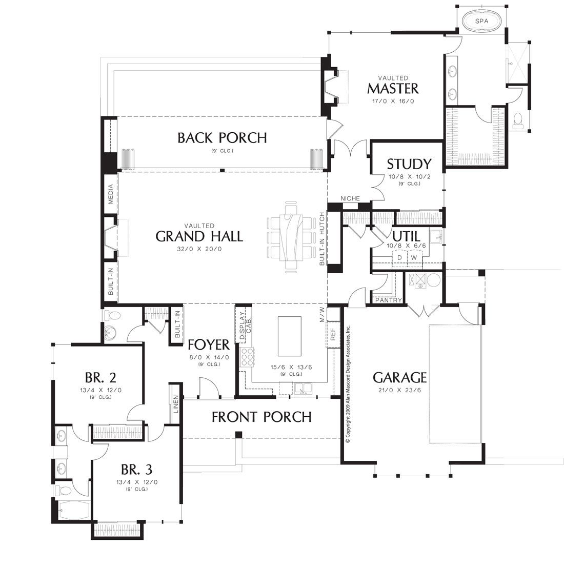 Stanley 1494 3 Bedrooms And 2 Baths The House Designers Modern Style House Plans Contemporary House Plans Shed House Plans