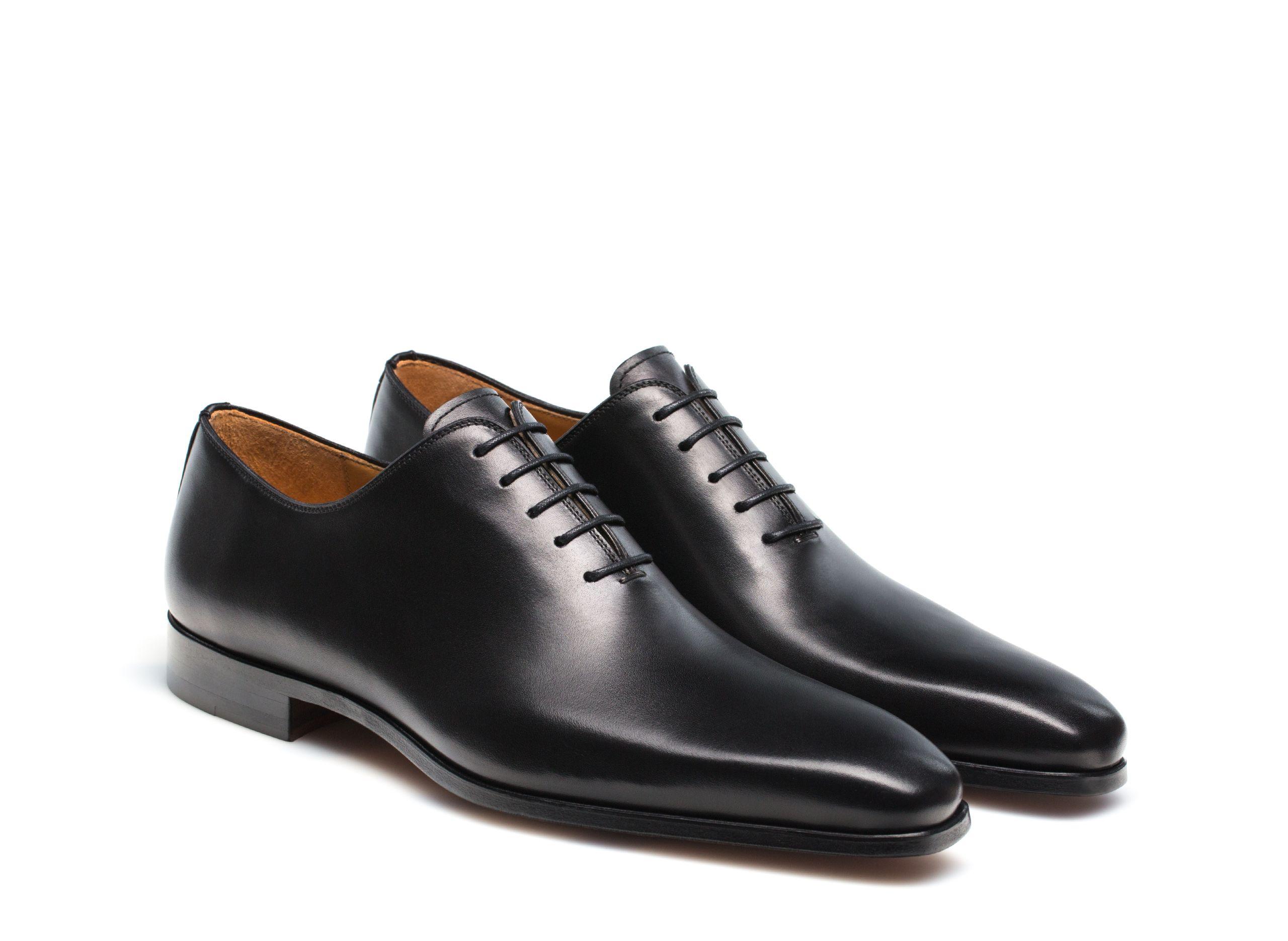 Cruz Black Magnanni Shoes Men Black Shoes Men Leather Shoes Men [ 1870 x 2560 Pixel ]