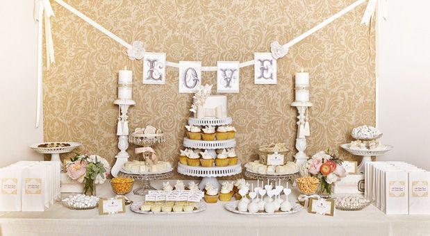 dessert table. #wedding #reception #dessert