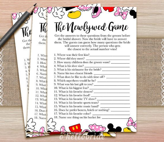 the newlywed game guess what the groom said printable bridal shower game bachelorette party games 009