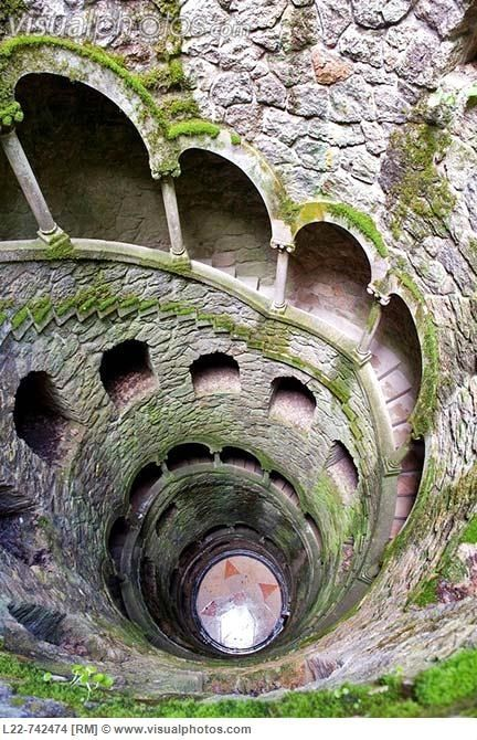 Quinta da Regaleira: Sintra, Portugal - would make a great writing prompt