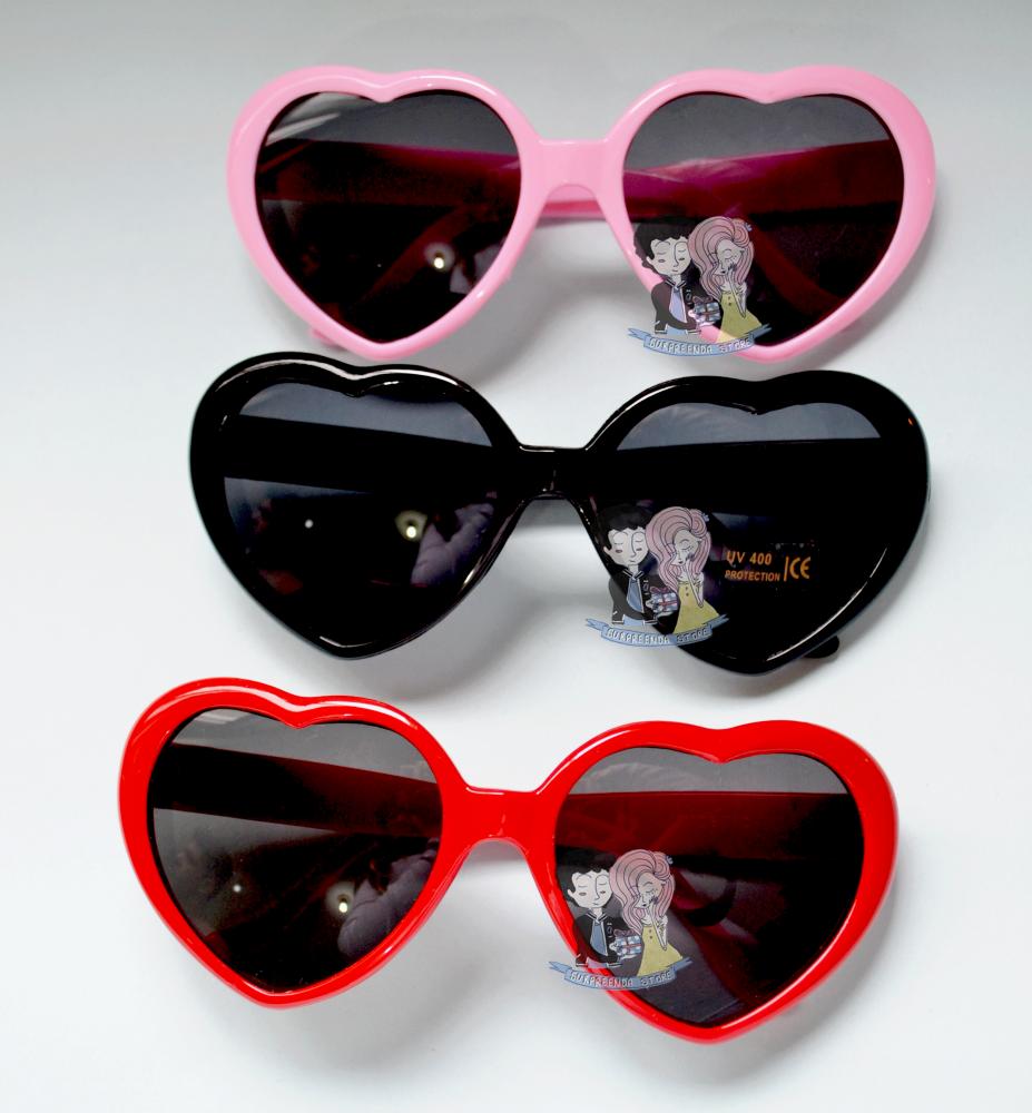 b14cfdd13df88 Óculos Heart Lolita Surpreenda Store  sunglasses  heart  coração  pink   rosa