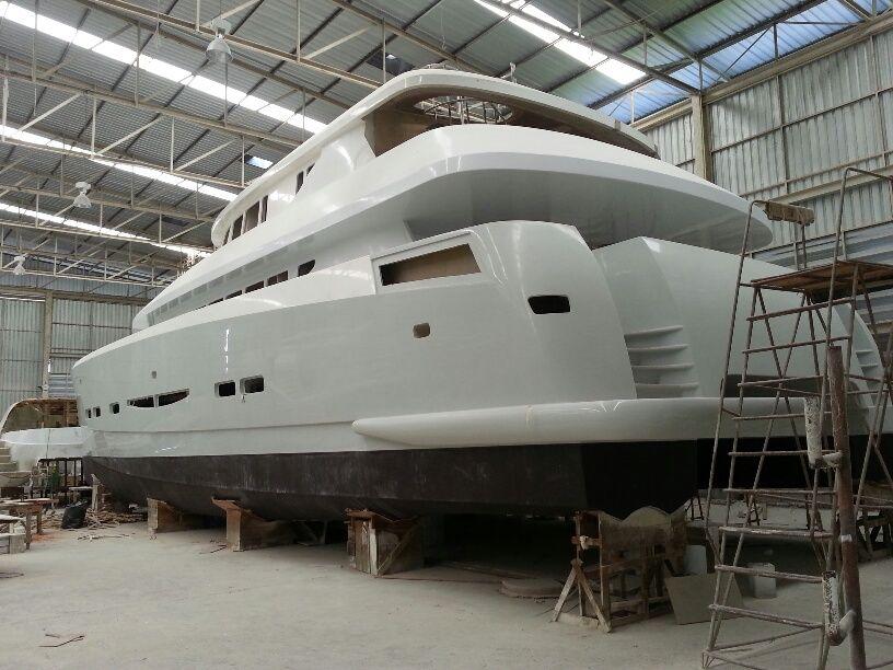 55ft True Luxury catamaran we are selling