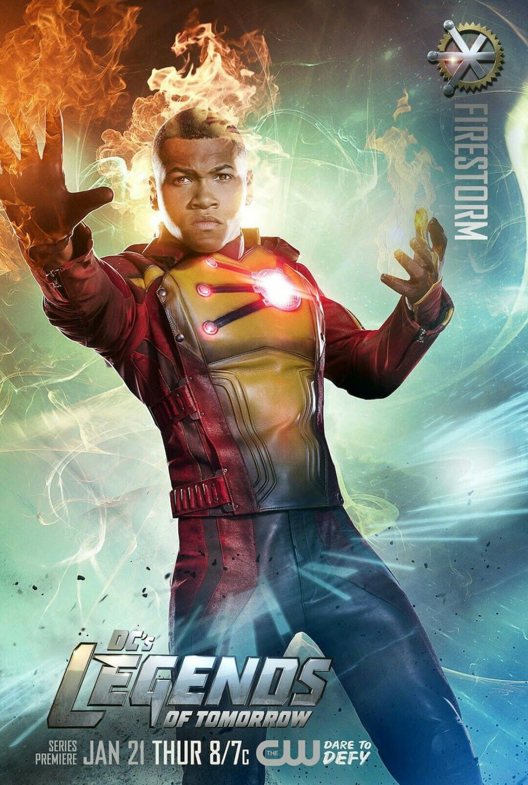 Franz Drameh As Jefferson Jackson Firestorm In Dc S Legends Of  -> Sala De Tv Jefferson