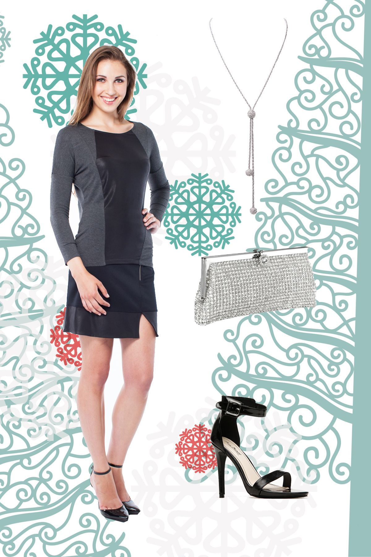 Sparkle in this party  outfit by LNBF - Annabelle Top   Allison ... 7da2c3e8e