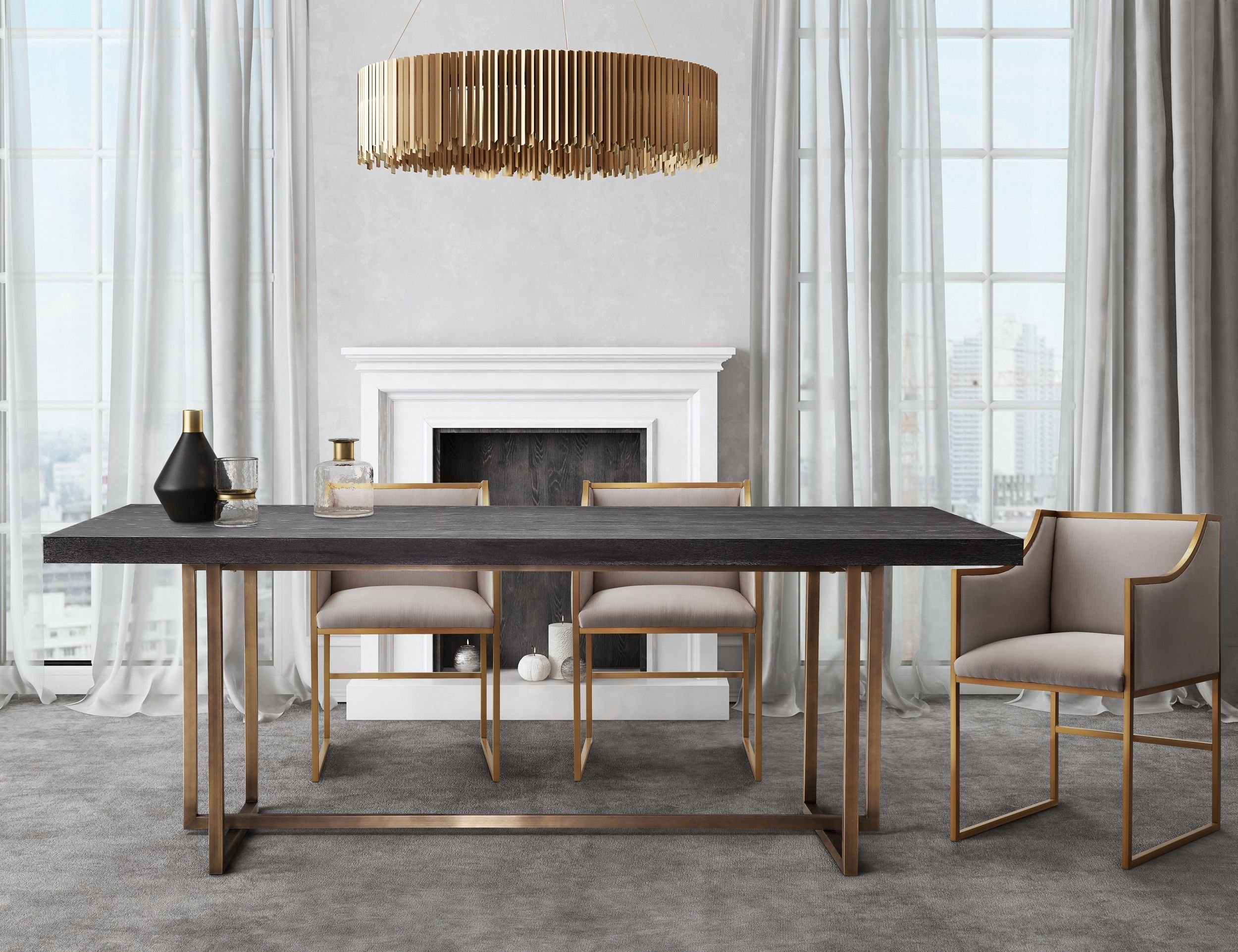 Tov Furniture Tov L6138 Tov L6122 Tov L6122 Tov L6122 Tov L6122 Home Feed In 2019 Contemporary Dining Room Sets Modern Dining Table Luxury Dining Room