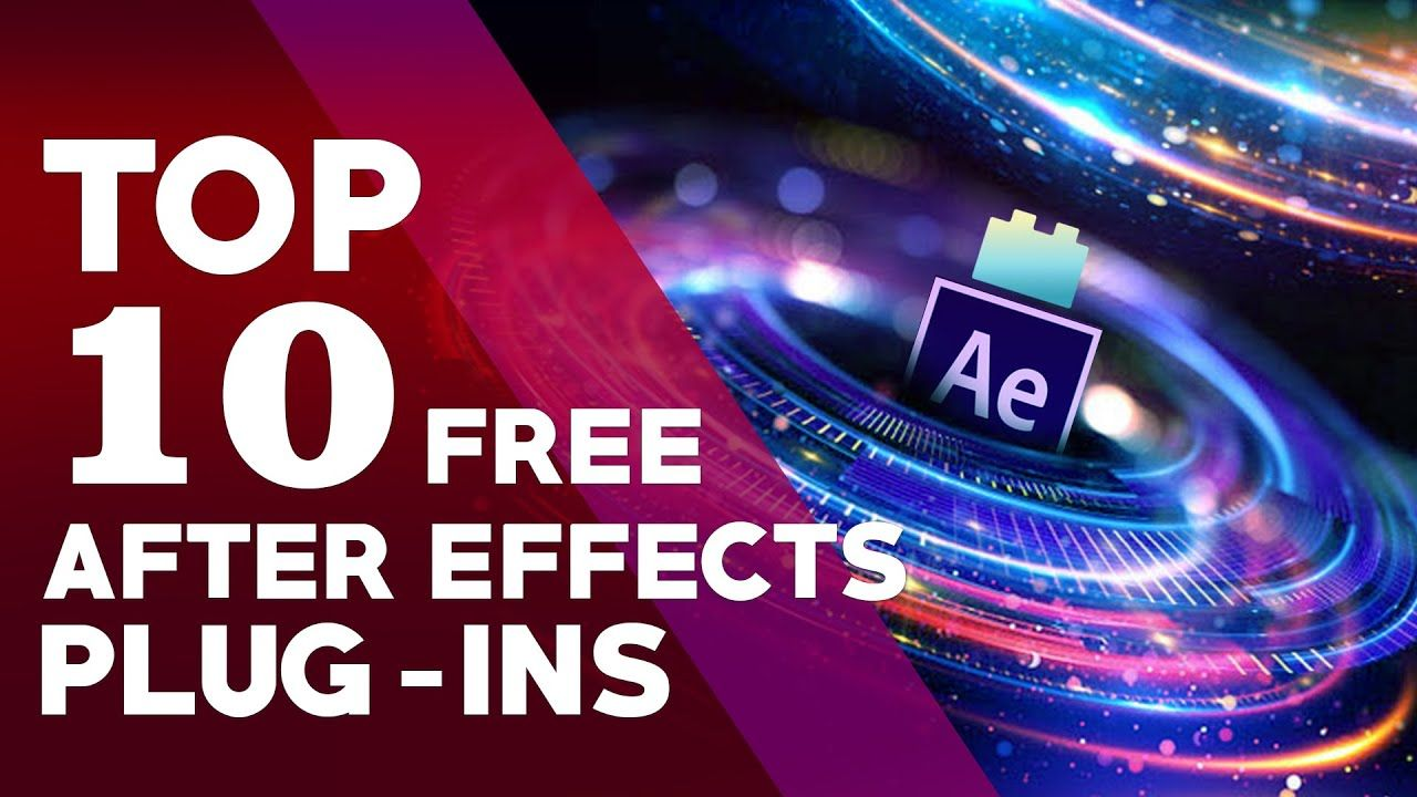 Top 10 After Effects Plugins Free Download For 2020 Youtube After Effects Plugins Free Plugins