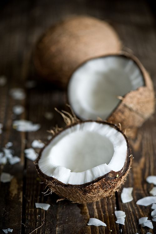 .coconut- okay so it is not a fruit, but it is such a pretty picture . It fits.