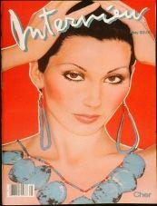 Interview Magazine Cher 1982