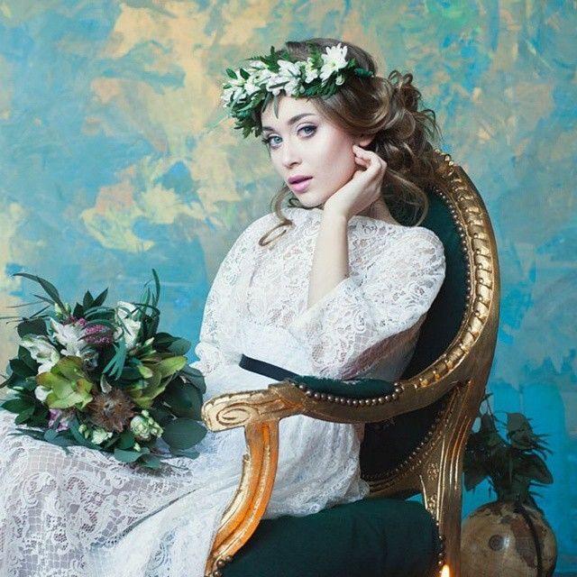 """Lace dress by Coo Culte Photo @evatiger23  MakeUp @elena_sanko_make_up  Hair @sveta_simonenko"""