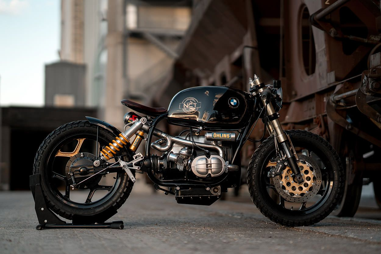 black beauty: nct's wild custom bmw r100 | nct, bmw and motorbikes