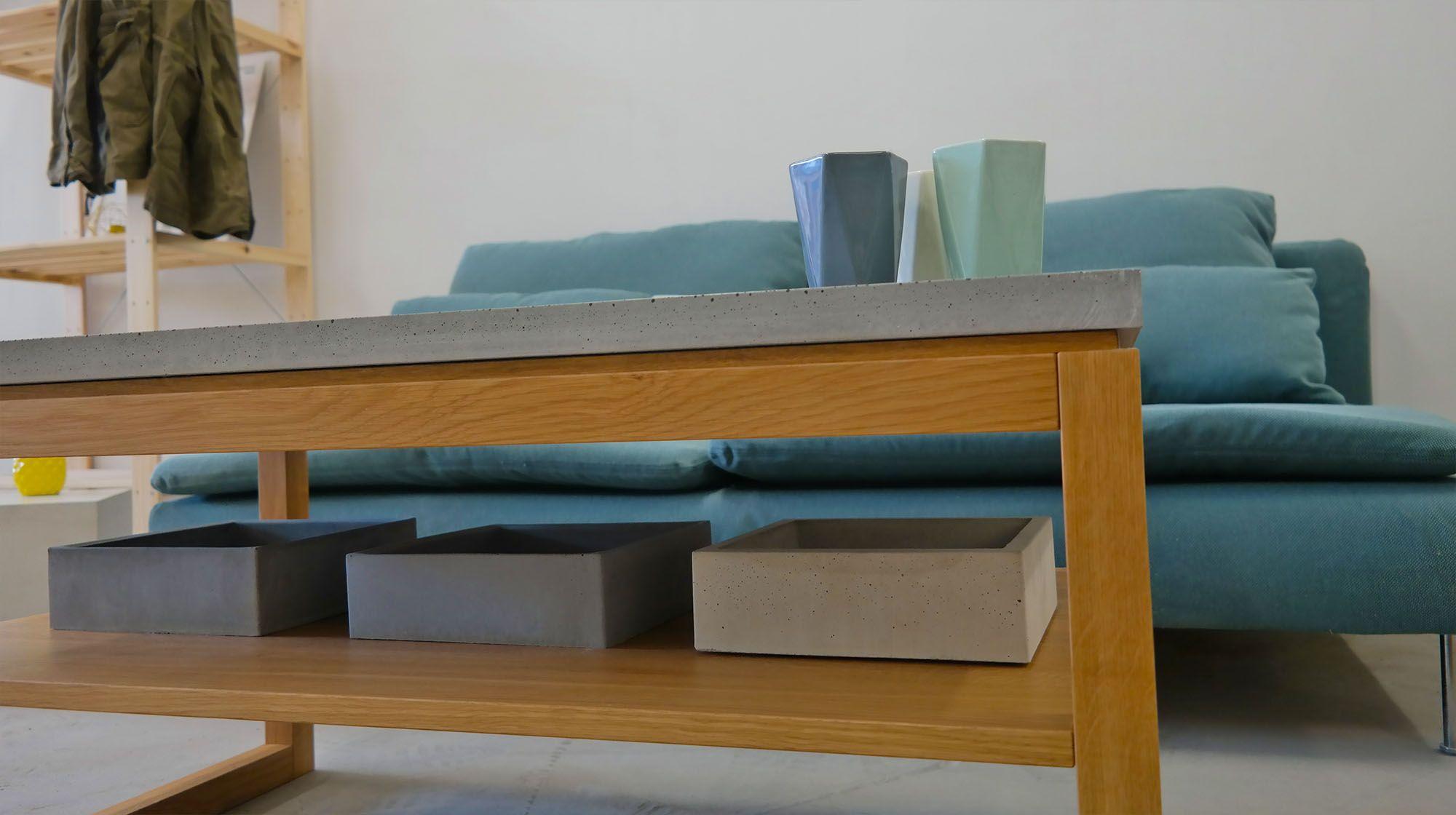 Die besten 25 timba betontisch ideen auf pinterest led spots einbauen flur beleuchtung - Betontisch wohnzimmer ...