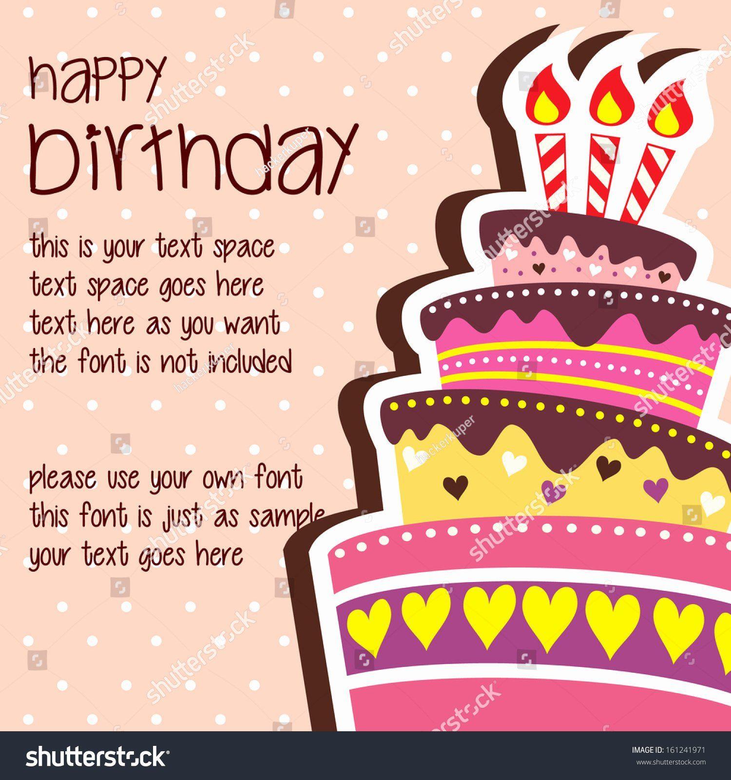 Happy Birthday Card Template Inspirational Birthday Card Template Birthday Card Template Happy Birthday Text Birthday Card Design