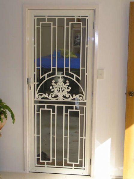 security screen doors | door1 | porte fer | Pinterest | Security ...
